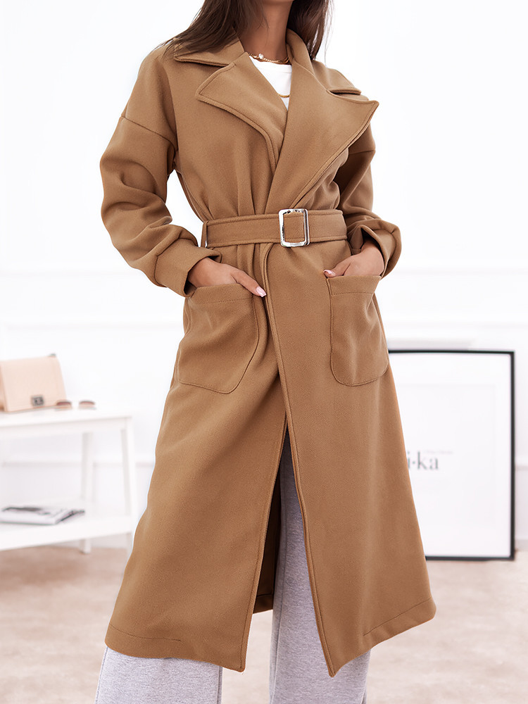 DOMENICA CAMEL LONG COAT