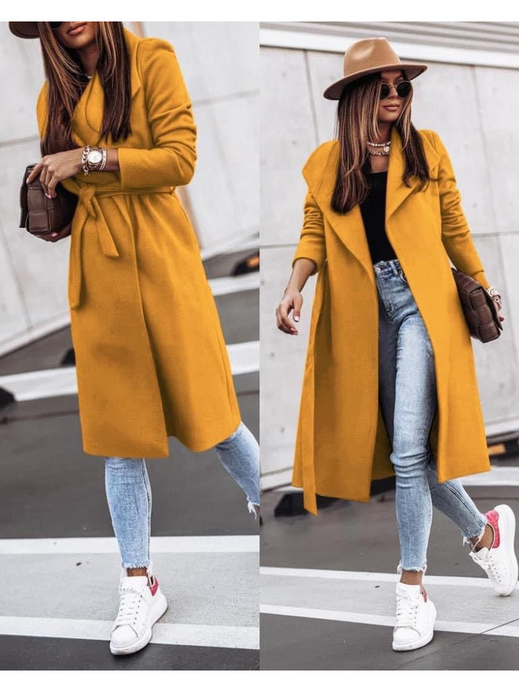 IRMA HONEY MUSTARD COAT