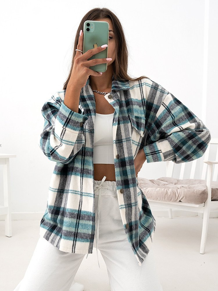 FALLON CHECKED SHIRT
