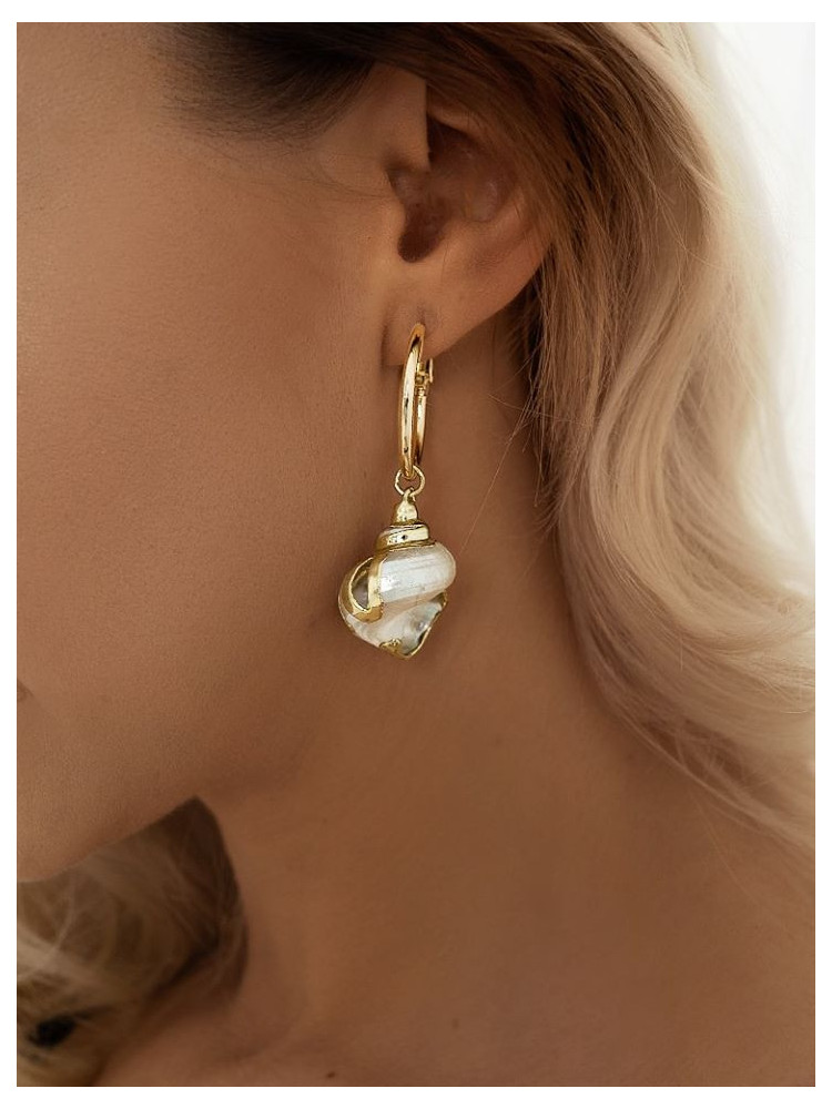 JANA SEASHELL EARRINGS