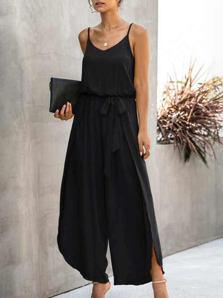 DAYANA BLACK  JUMPSUIT