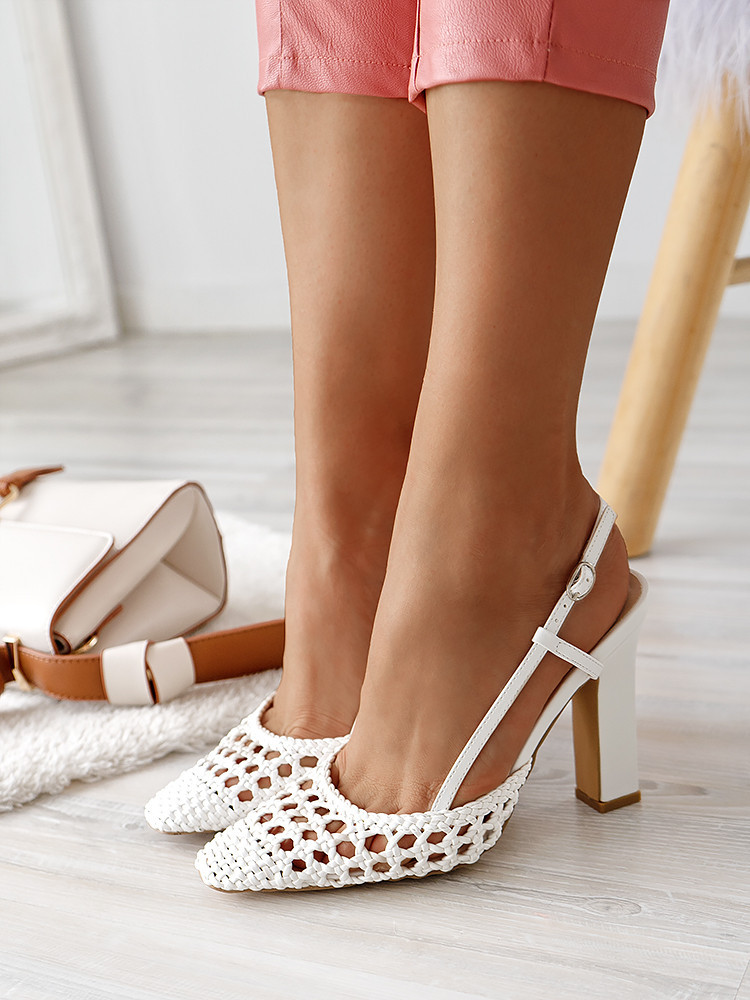 LACEY WHITE SANDALS