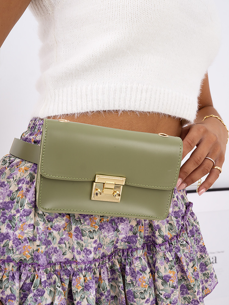 PERIANA OLIVE BELT BAG
