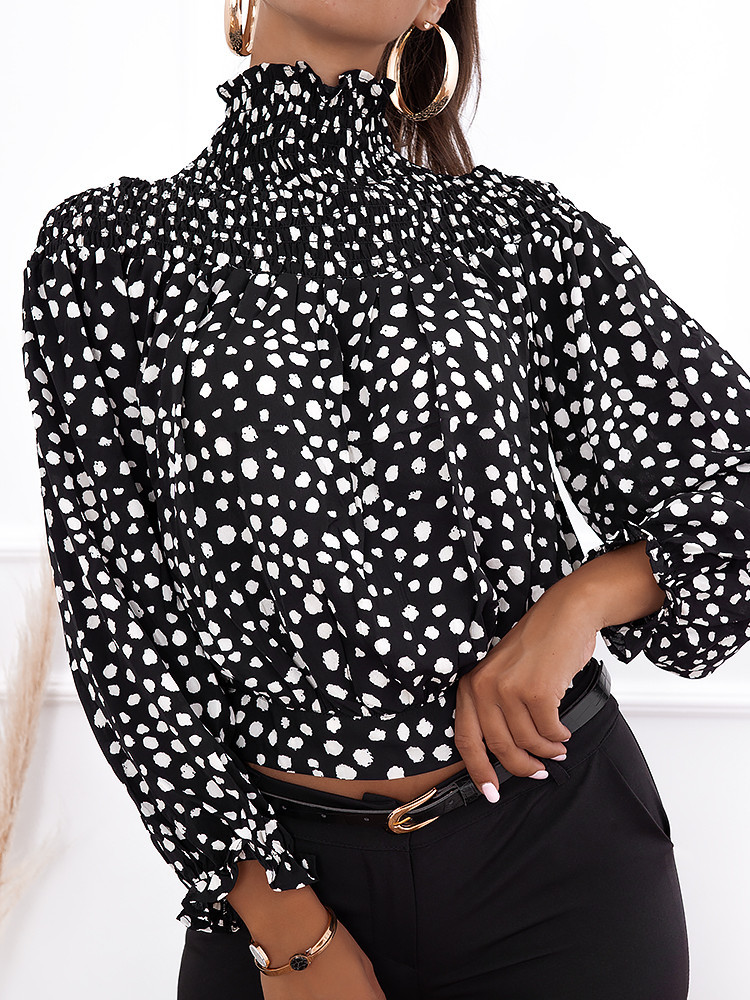 INFERNO BLACK BLOUSE