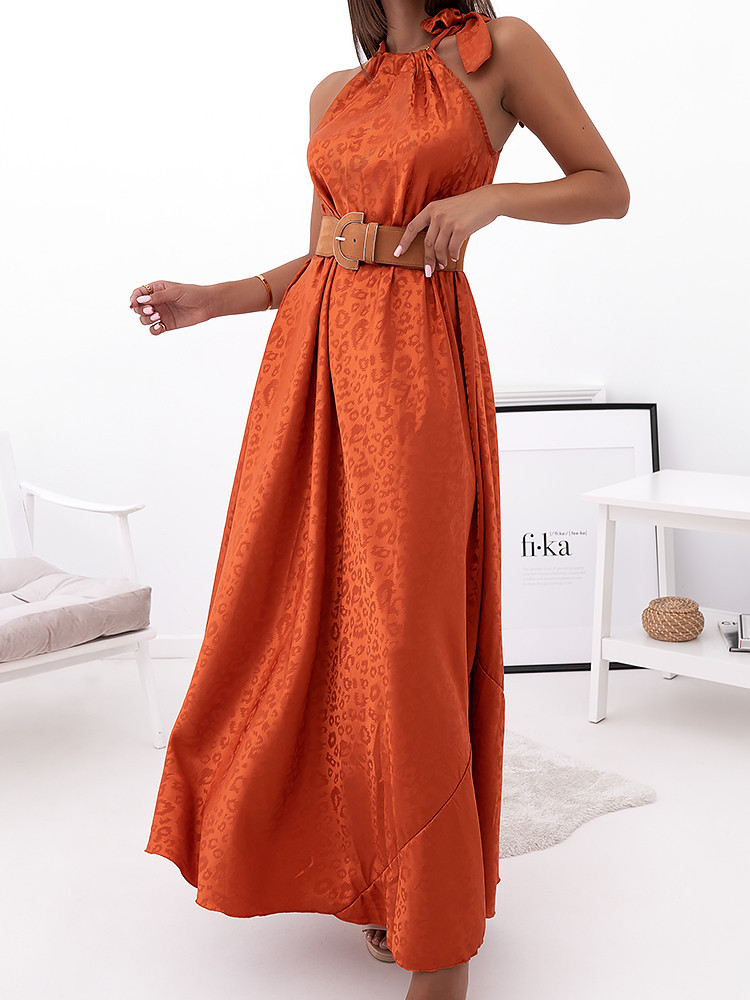 ARABELLA ORANGE MAXI DRESS