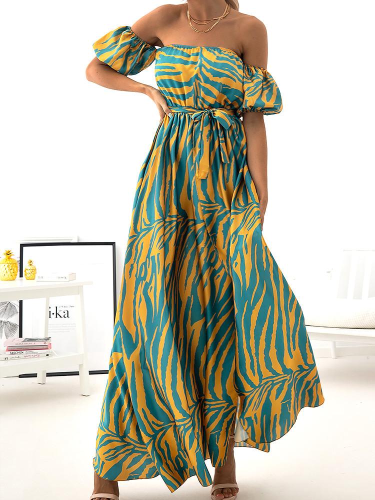 AKILA YELLOW MAXI DRESS