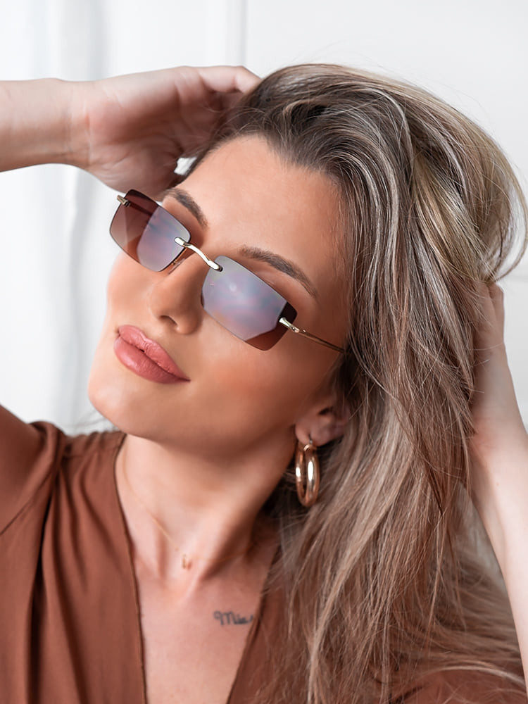 OASIS BROWN SUNGLASSES