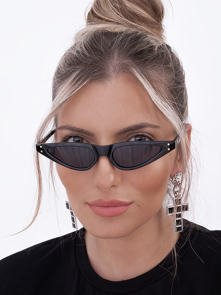 SILVIA BLACK SUNGLASSES