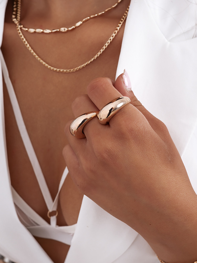 LORRIS ROSE GOLD RING