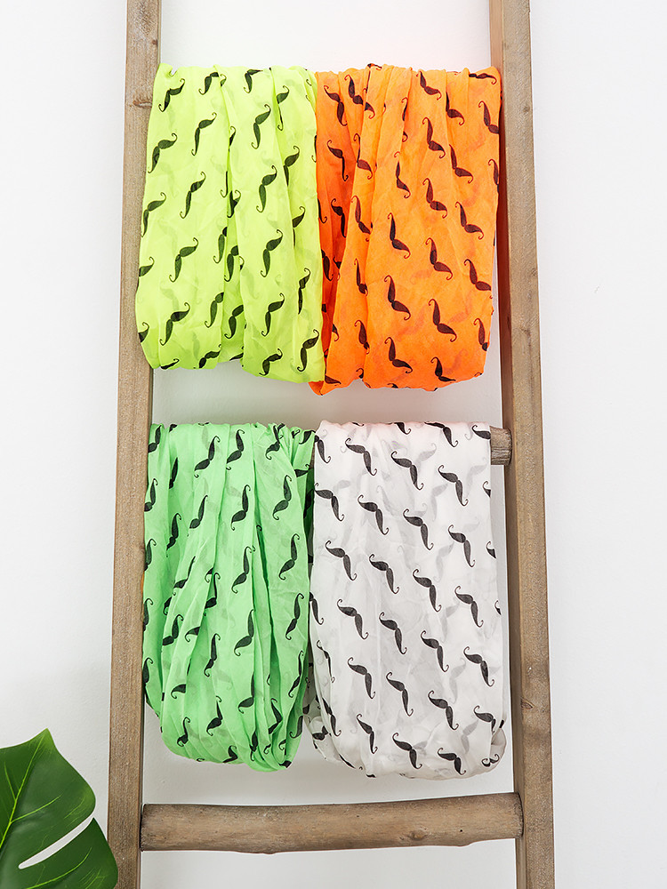 COTTON MUSTASH SCARVES...