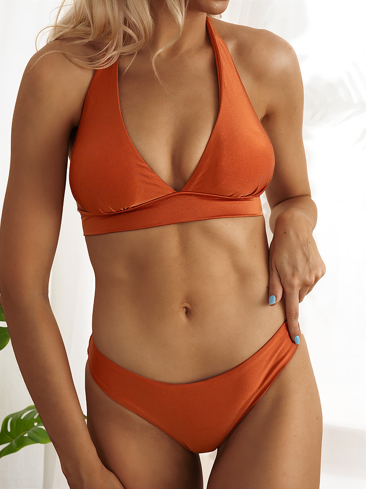 CECIL BURNT ORANGE BIKINI