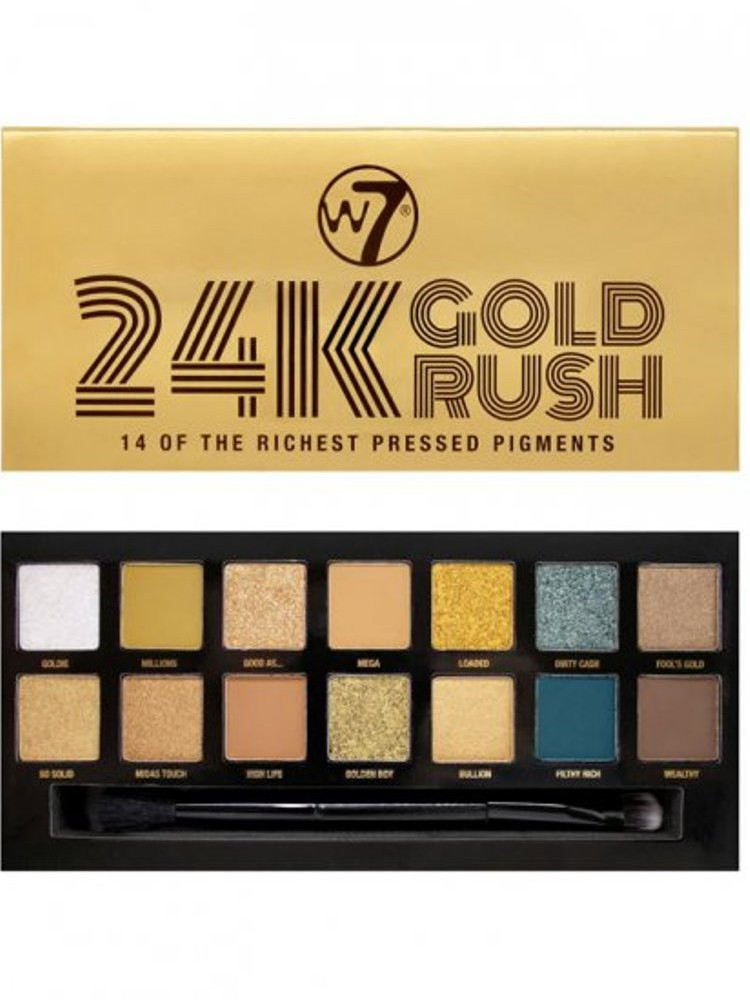 W7 COSMETICS GOLD RUSH