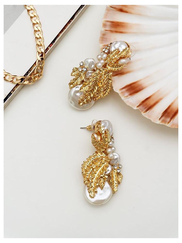 PALAZZO GOLD EARRINGS