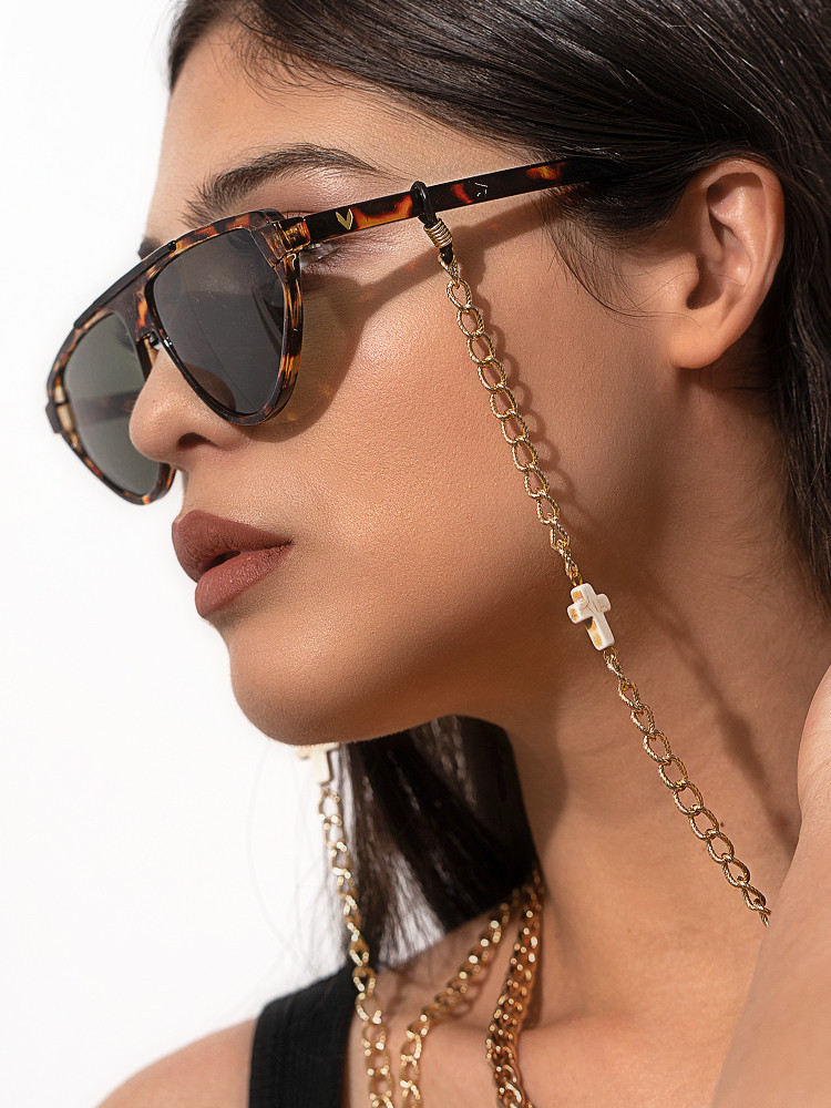 CROSS GOLD CHAIN FOR SUNNIES