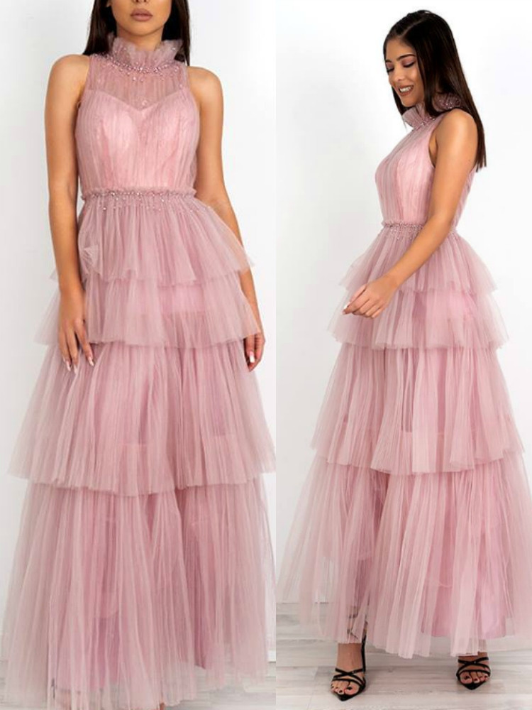 FIORENTINA MAXI TULLE DRESS