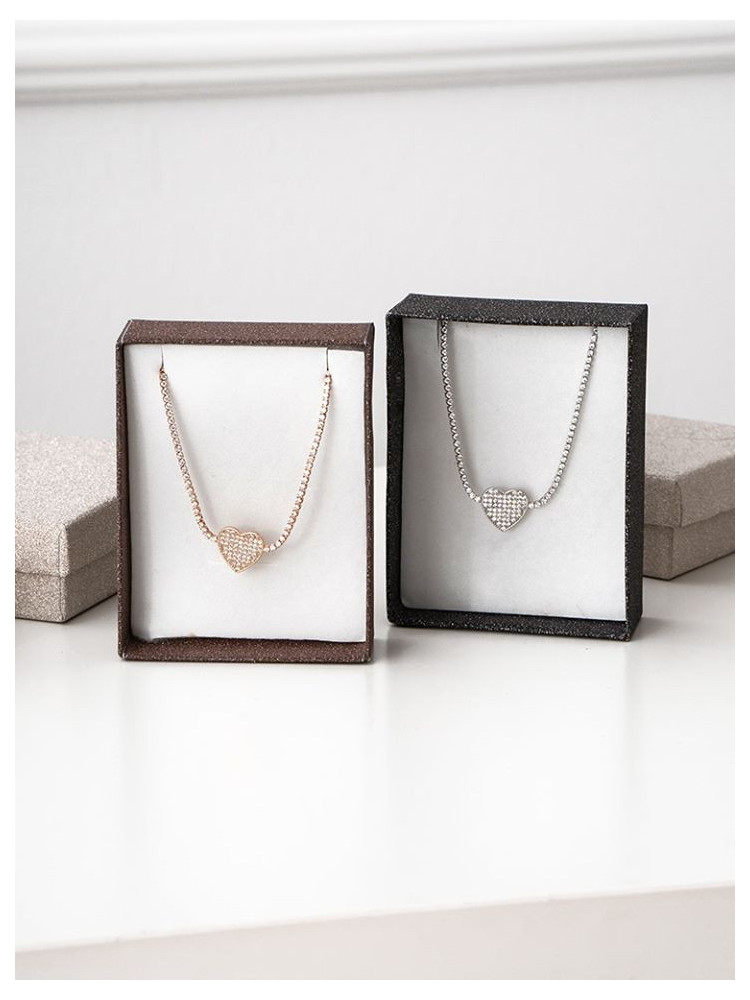 HEART STEEL NECKLACE (2...