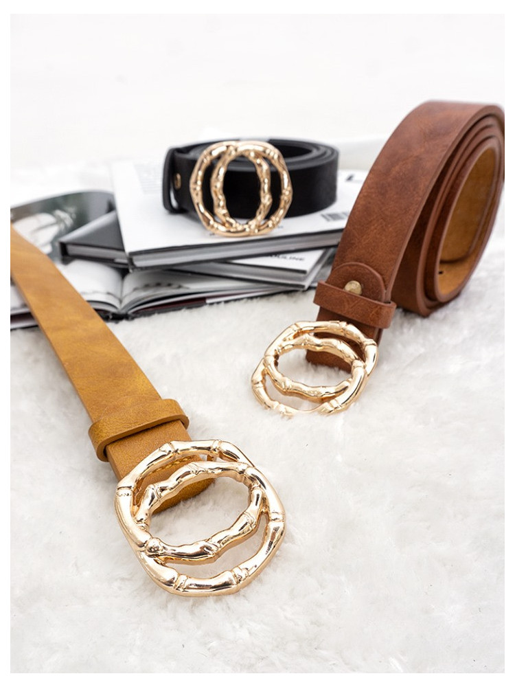 FOSSI GOLD BUCKLE BELTS