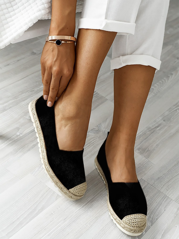 FENLY BLACK ESPADRILLES