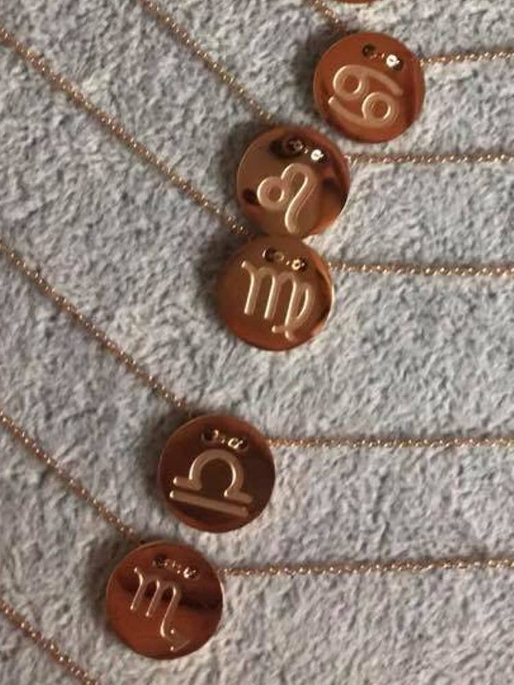 HOROSCOPE GOLD NECKLACE (12...