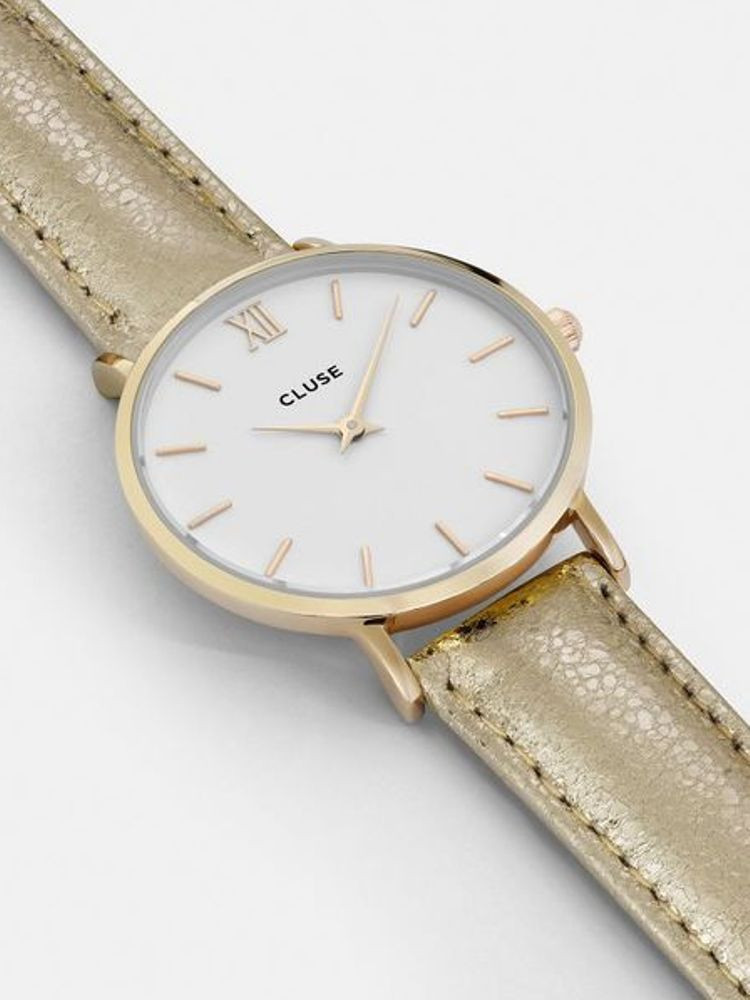 CLUSE STRAP 18 MM - GOLD