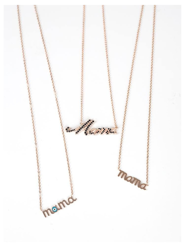MAMA STAINLESS STEEL NECKLACE