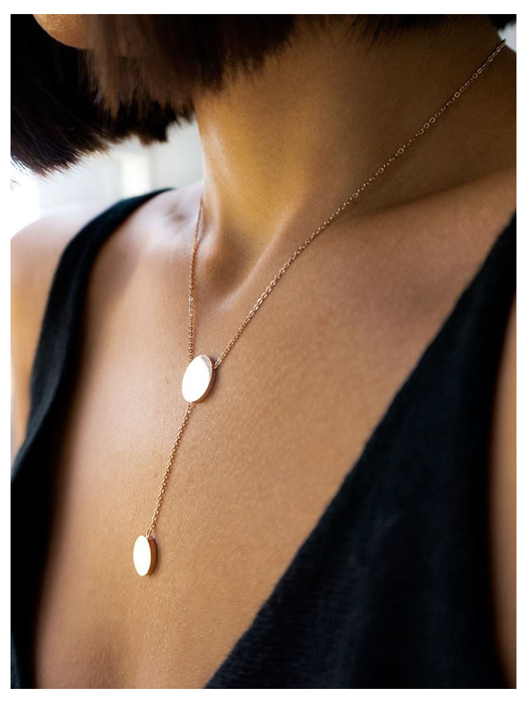 RADIUS STEEL NECKLACE