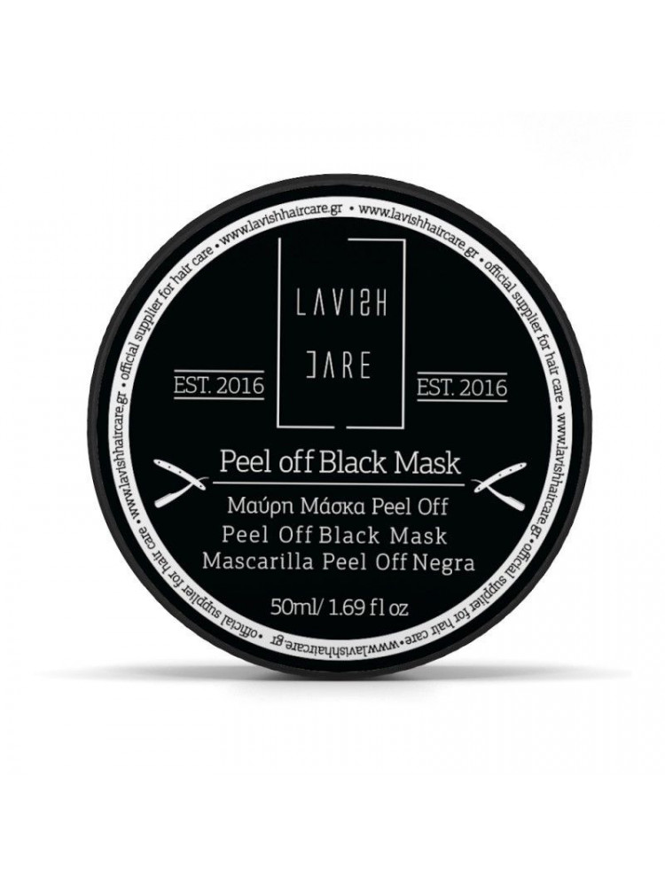 LAVISH CARE PEEL OFF BLACK...