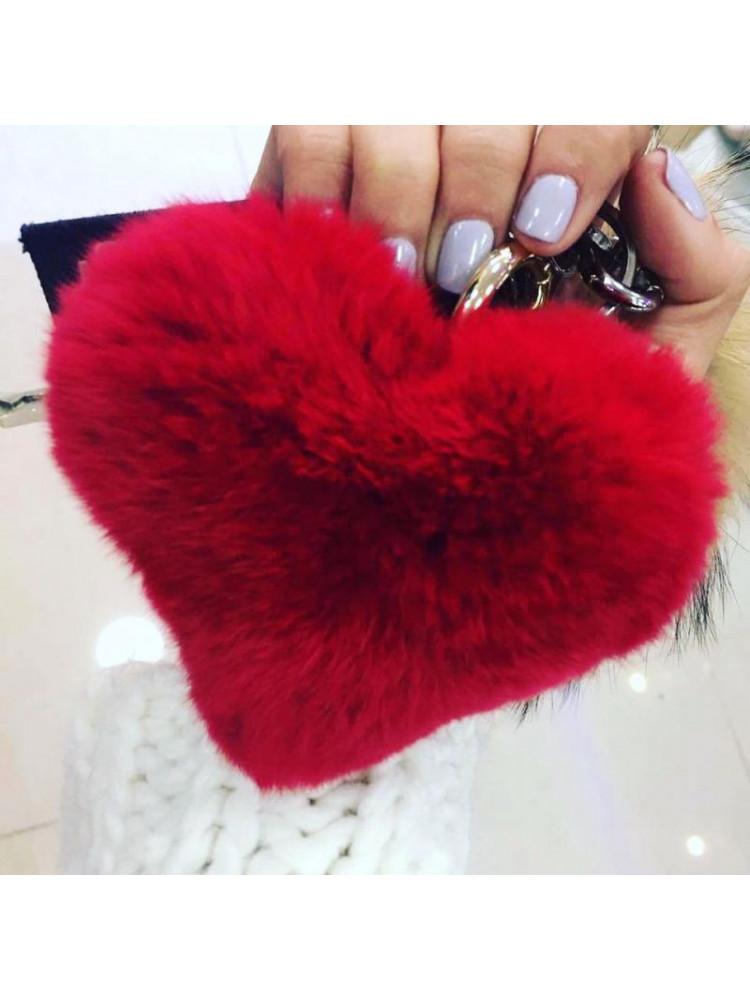 RED HEART KEY HOLDER