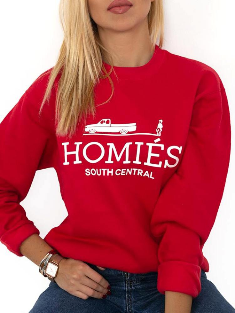 HOMIES RED SWEATSHIRT