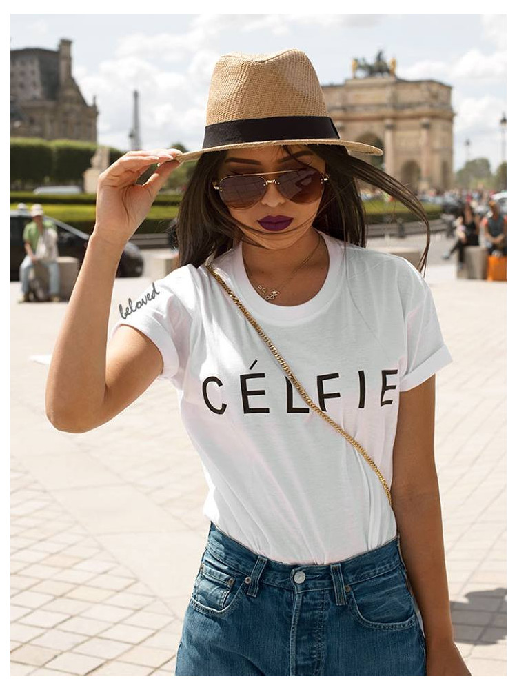CELFIE T-SHIRT (2 COLOURS)