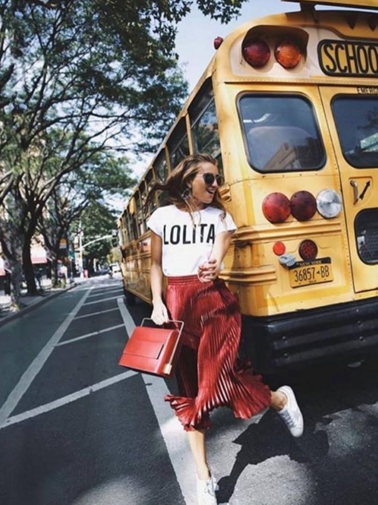 LOLITA WHITE  T-SHIRT