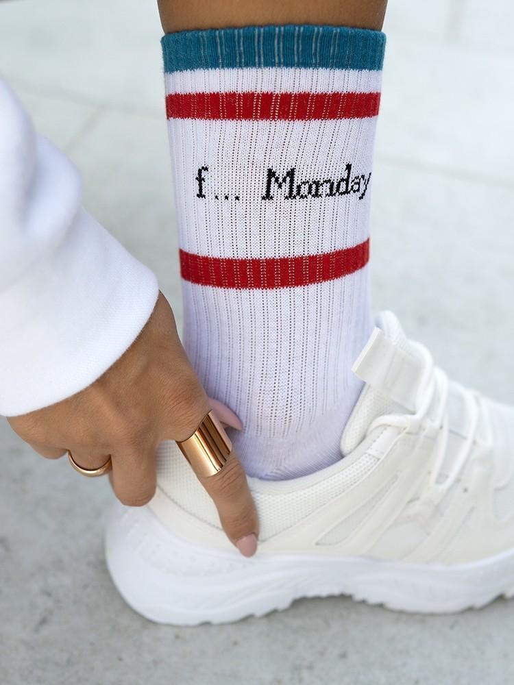 F MONDAY BASKET SOCKS - Sense-Shop -