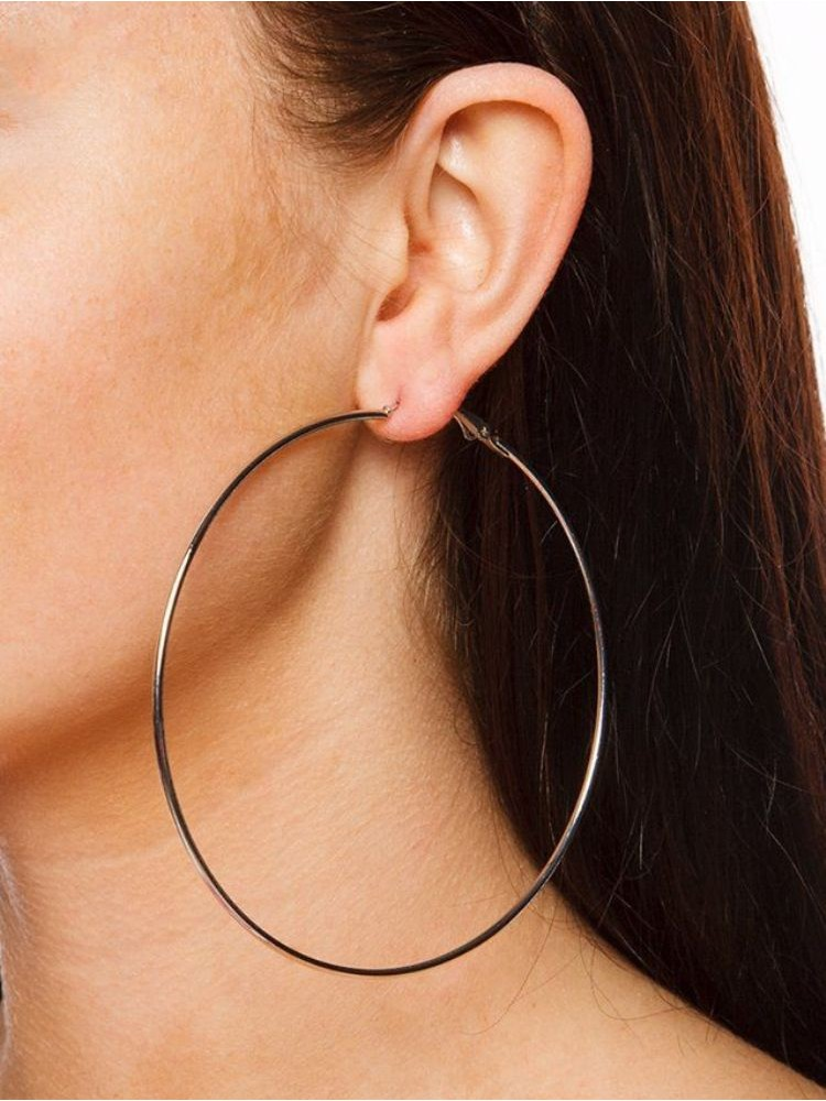 SLIM HOOP EARRINGS (2 COLOURS)