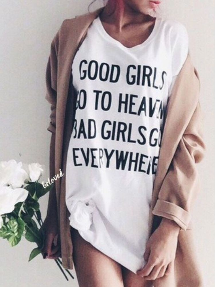 BAD GIRLS LONG T-SHIRT