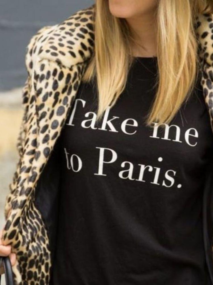 TAKE ME TO PARIS (2 COLOURS)