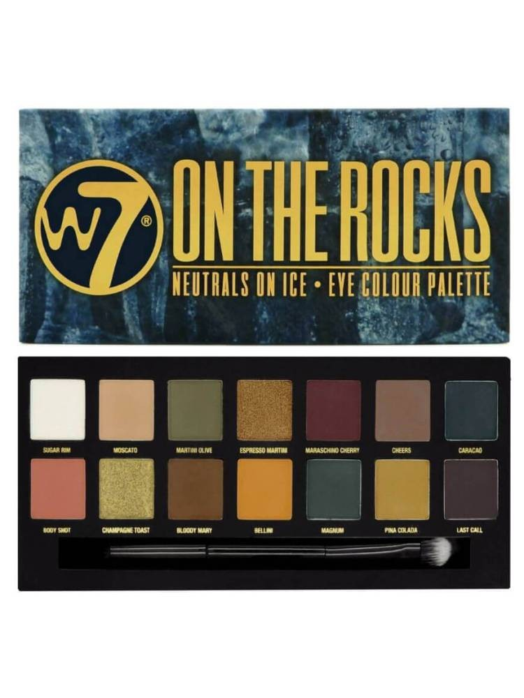W7 ON THE ROCKS EYESHADOW...
