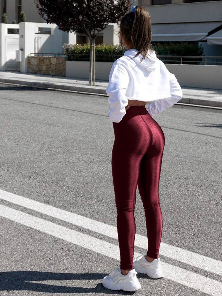 SUPER LYCRA CHERRY LEGGINGS - Sense-Shop -