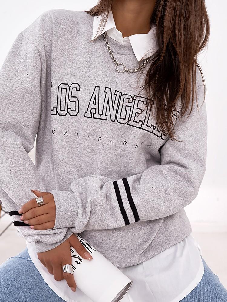LOS ANGELES GREY SWEATSHIRT