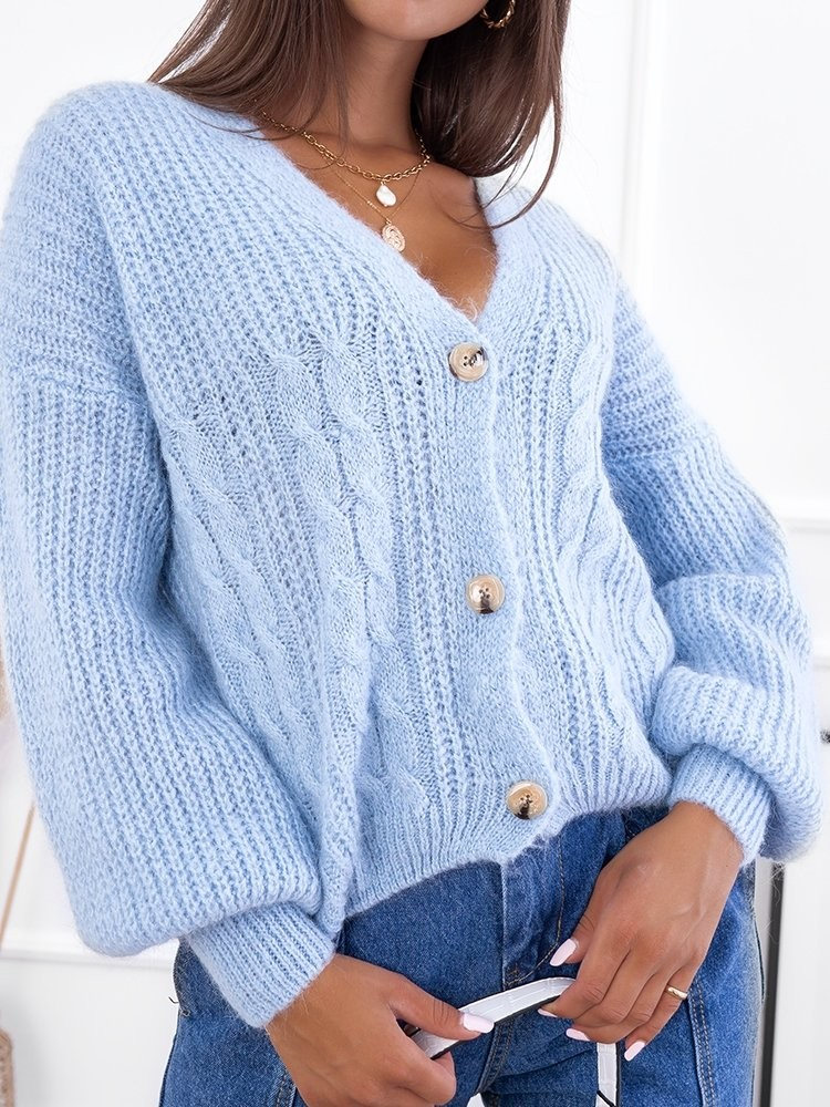 BUDAPEST BABY BLUE KNITTED...