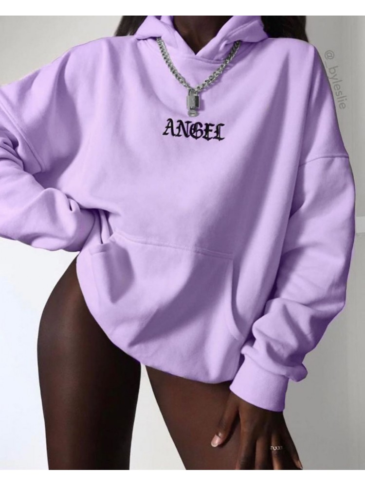 ANGEL LILAC SWEATSHIRT