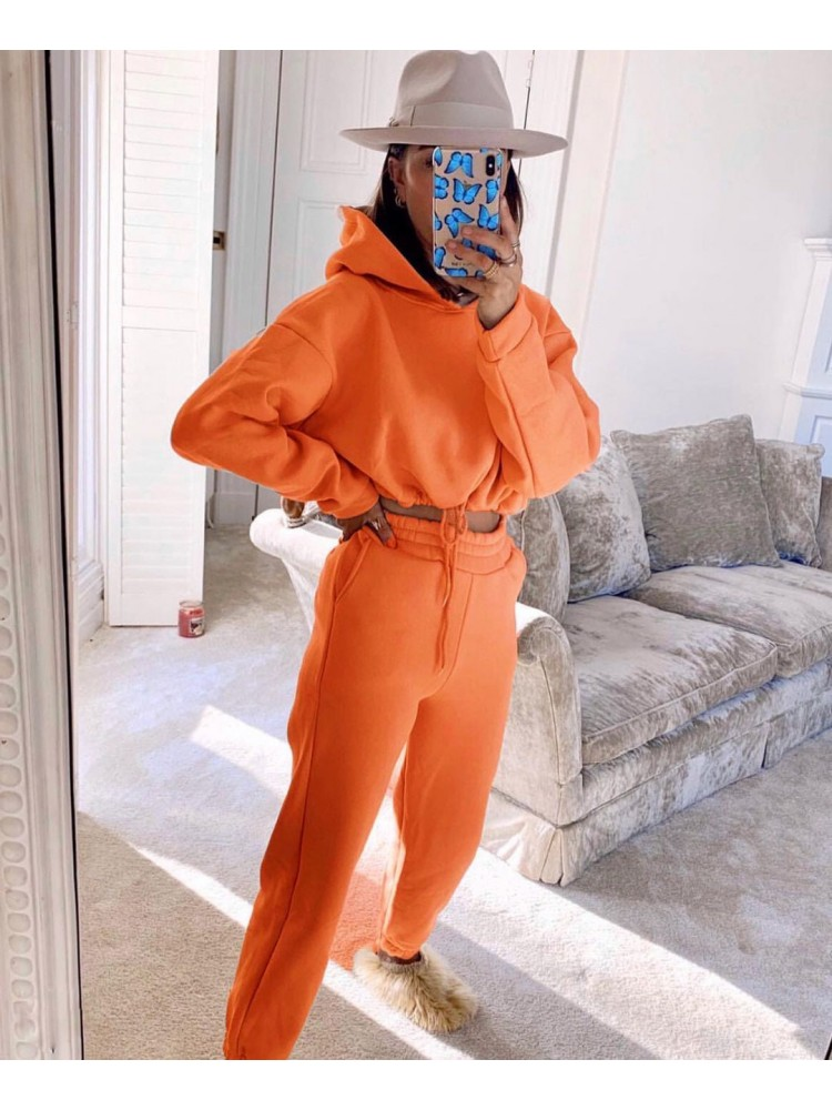 KEISI ORANGE ATHLETIC SET