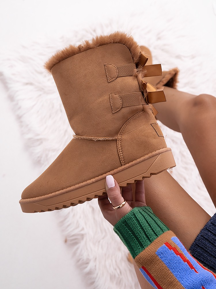 CATALINA CAMEL BOOTIES