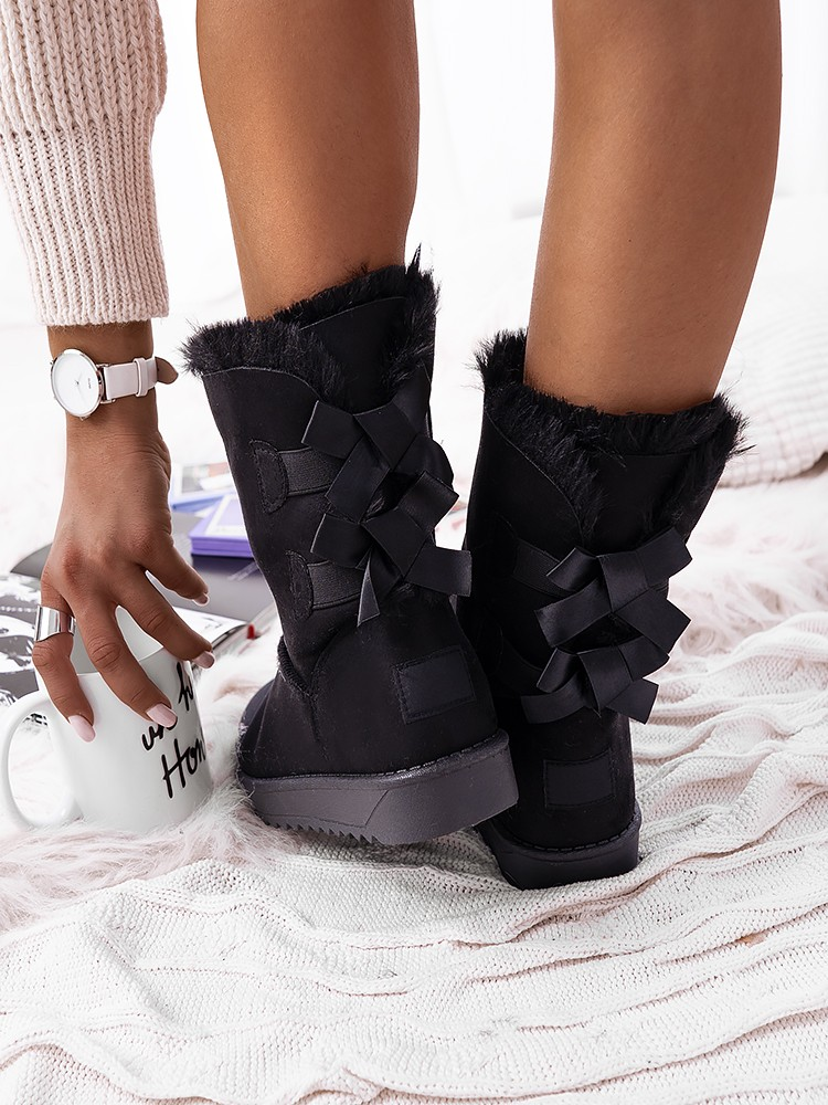 CATALINA BLACK BOOTIES