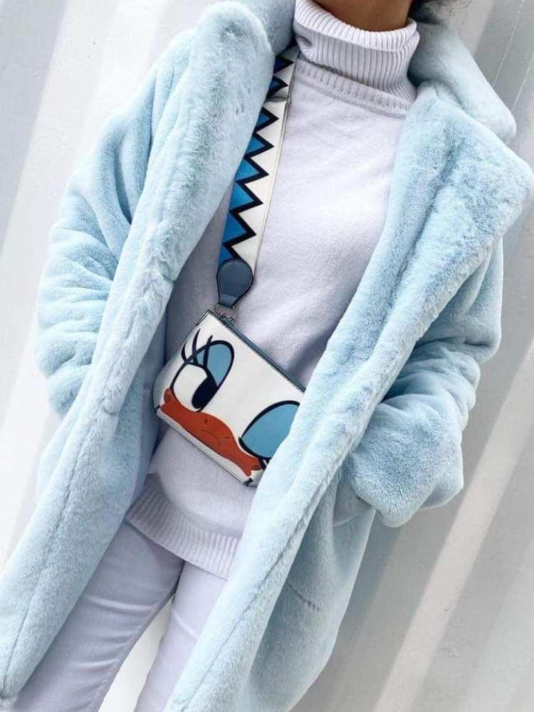 NOELLE BABY BLUE FUR