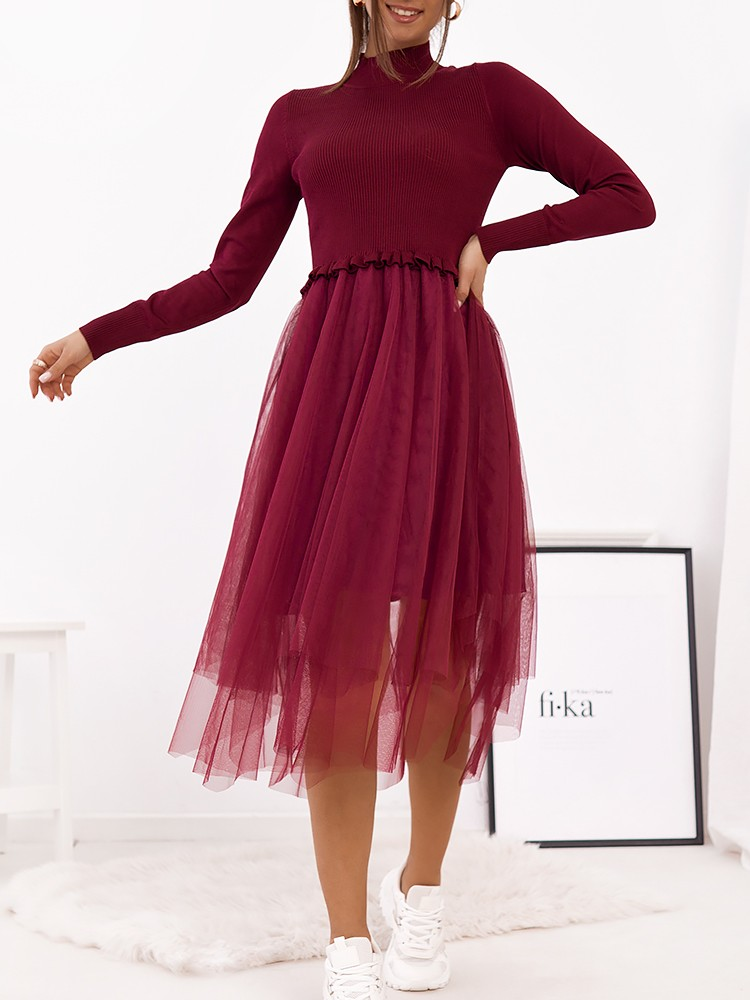 SEQUEL WINE DRESS
