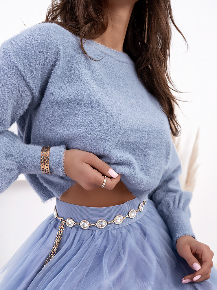 NORTH BABY BLUE BLOUSE