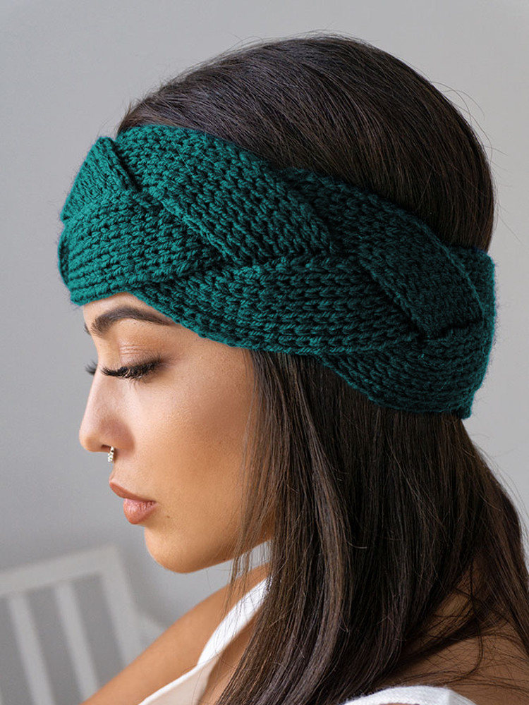 BRAID PETROL HEADBAND
