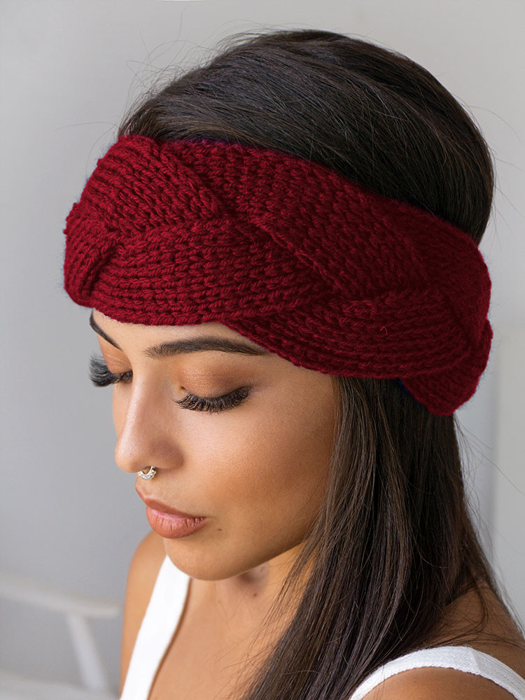 BRAID WINE HEADBAND