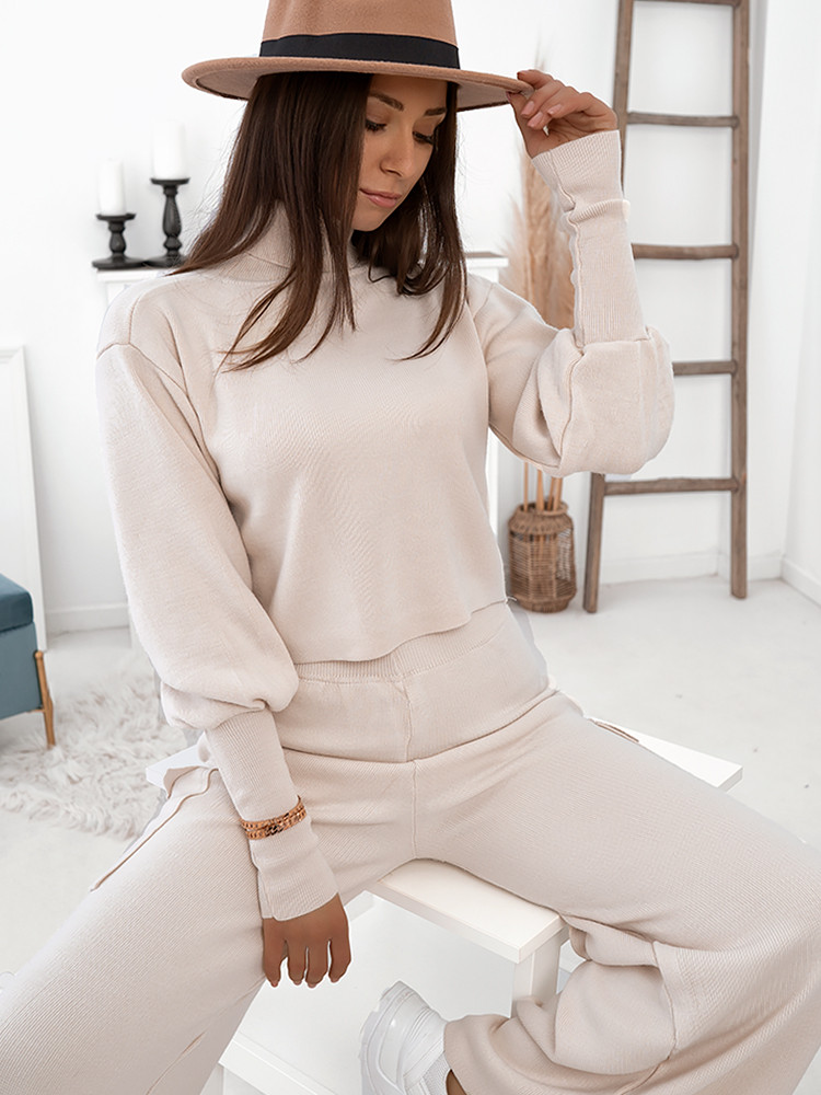 CAROLINA CREAM KNITTED SET