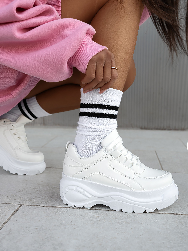 SIERRA TOTAL WHITE SNEAKERS